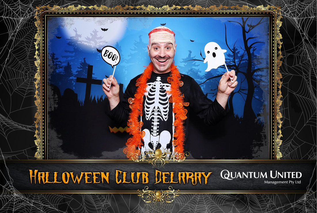 Halloween Photobooth hire  Melbourne