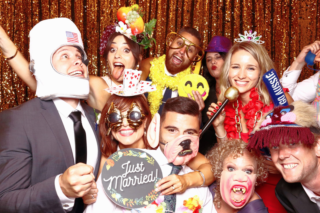 Melbourne Weddign Photobooth Hire