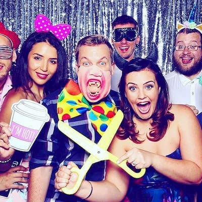 Engagement Photobooth Party Fun